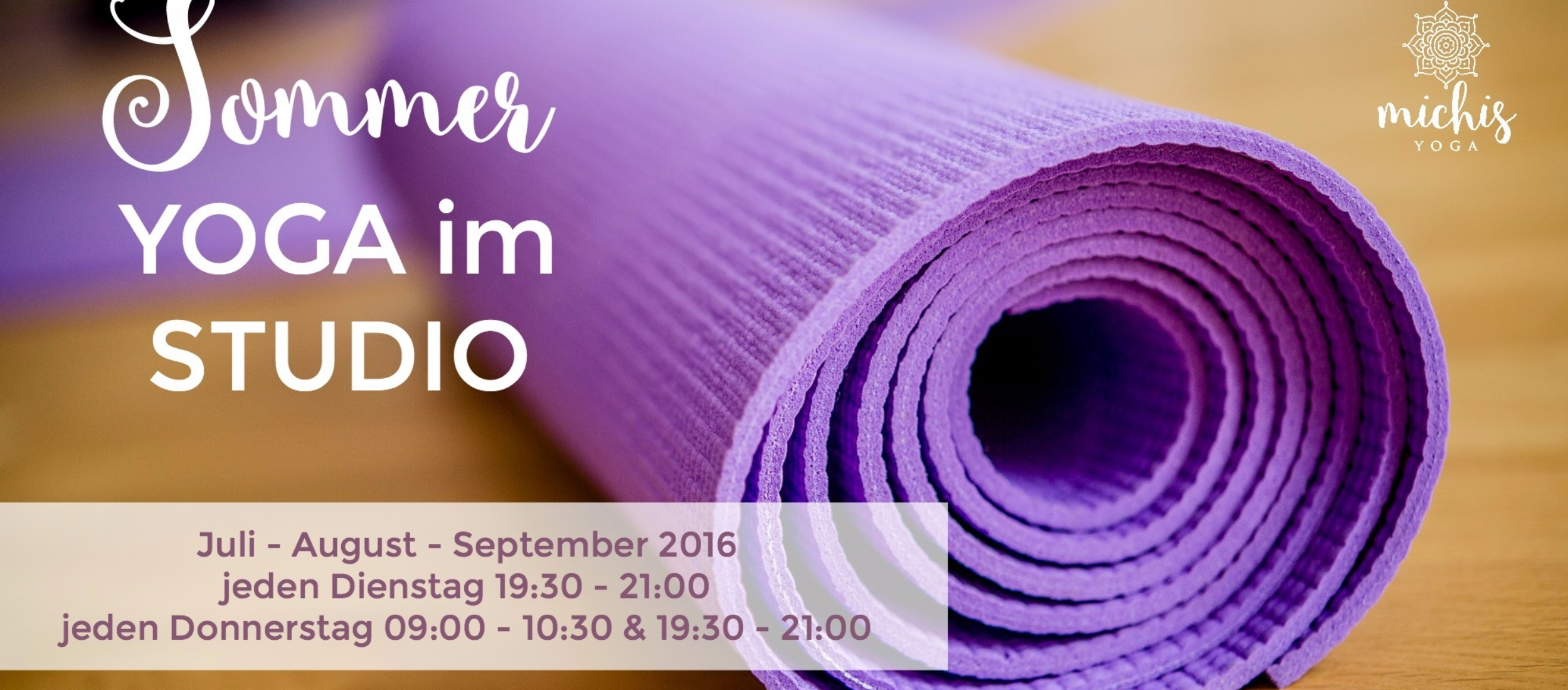 sommer yoga studio header