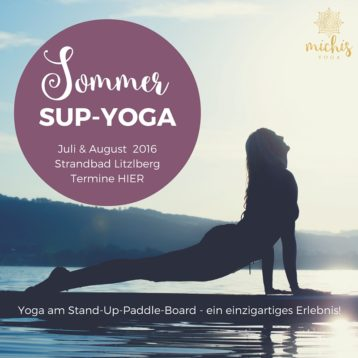 SUP-YOGA am Attersee – Termine 2016