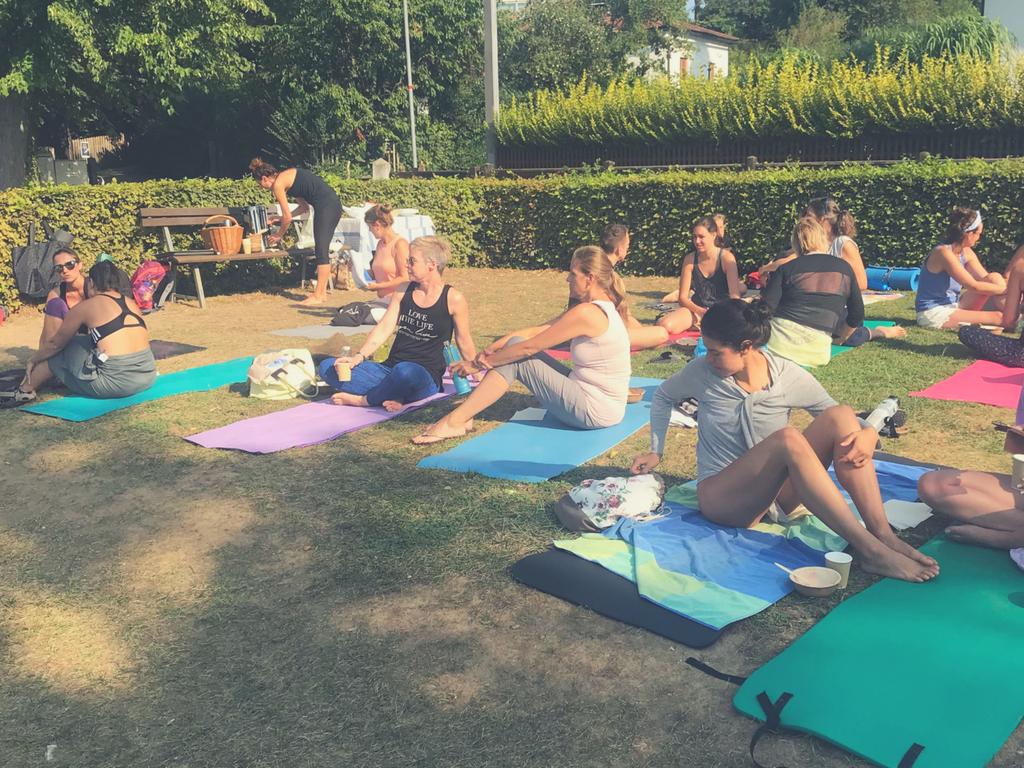 Rückblick: Sommer-Yoga & DANKE-Frühstück am SEE