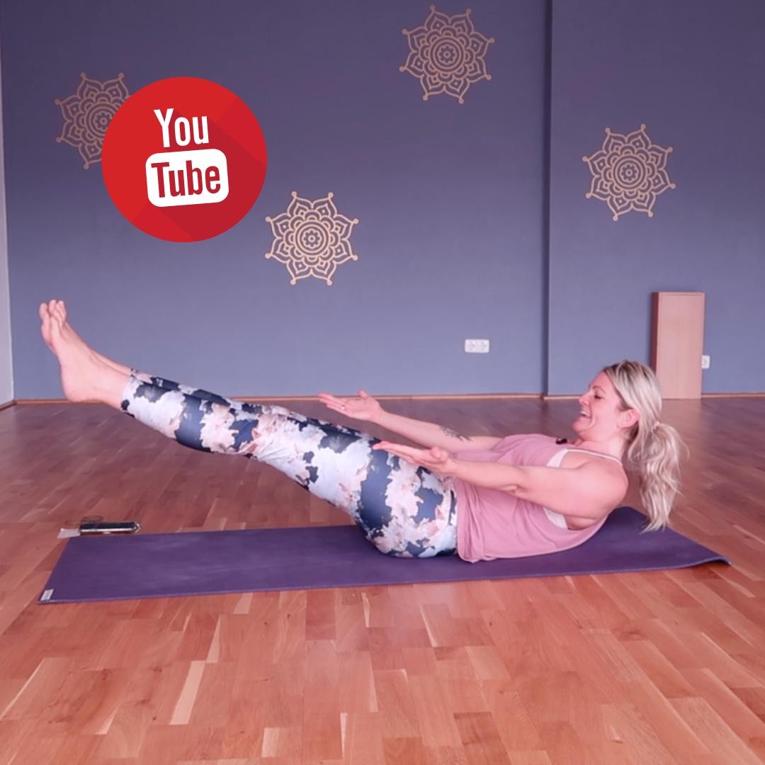 Neue 3-teilige Online Yoga Serie: In die eigene Kraft kommen