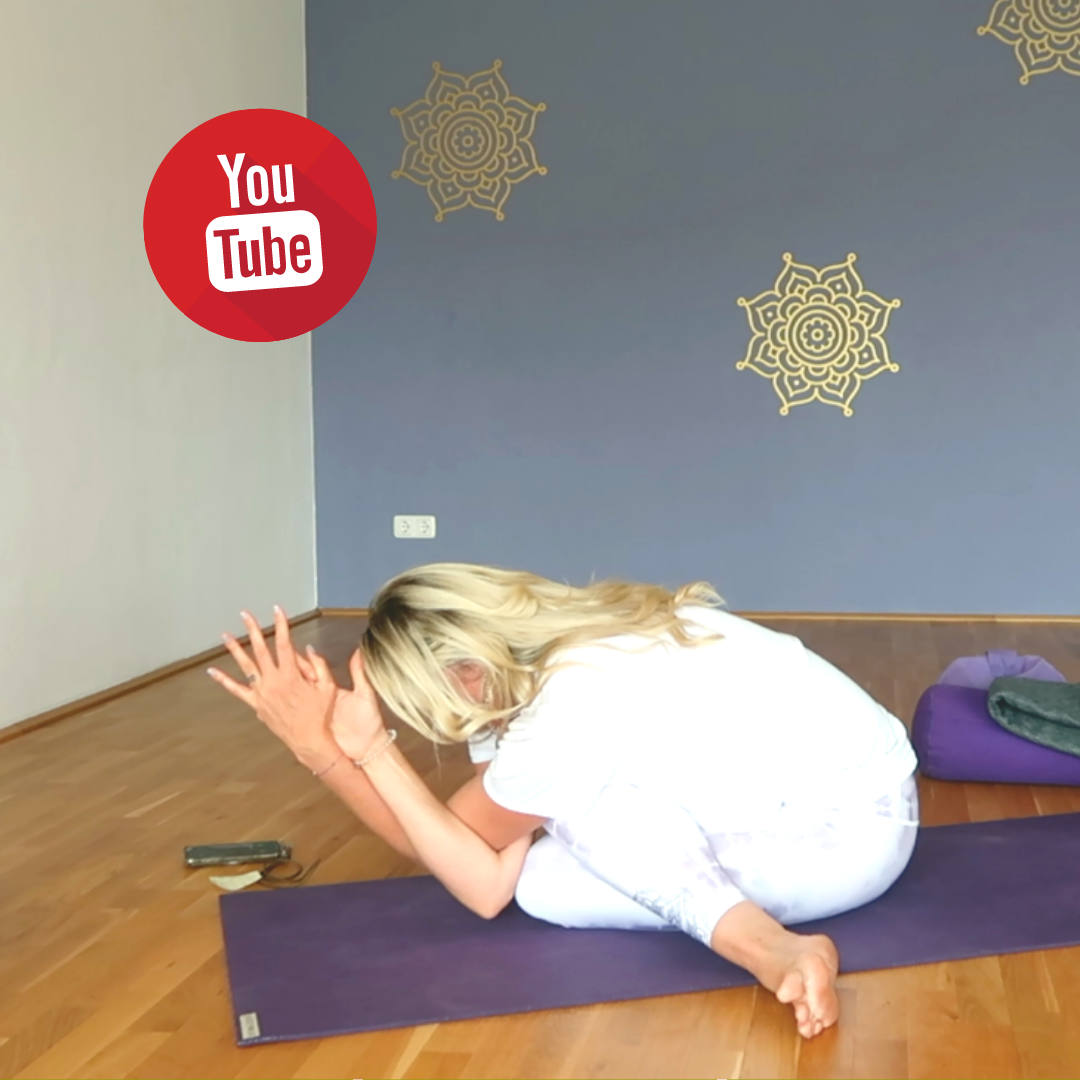 Neues YouTube Video online: 50 min Abend Yoga – Bedtime Stretches