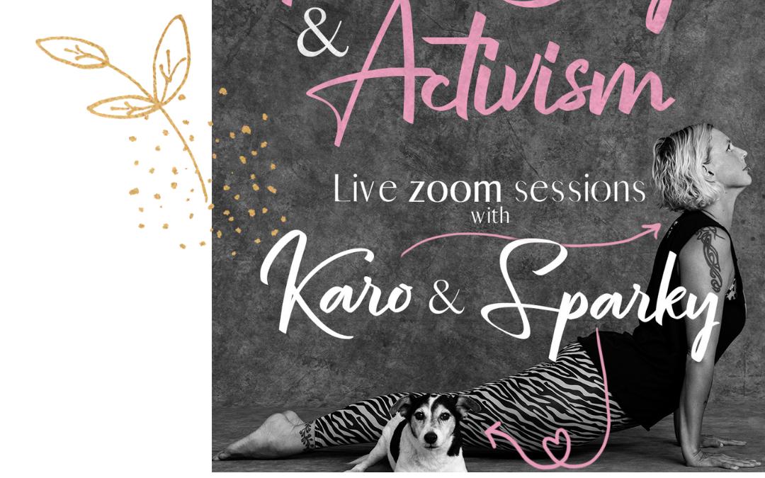 FREE Yoga SPECIAL: Do, 22.4. – Yoga, Food & Activism mit Michi und Gastlehrerin und Köchin Karo aus Amsterdam